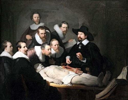 Урок анатомии доктора Николаса Тульпа
