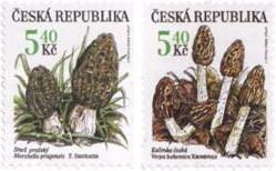 Грибы на почтовых марках