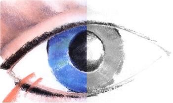 Как мы видим цвета