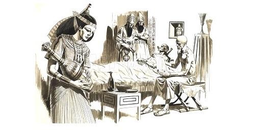 Кожные болезни в Древности