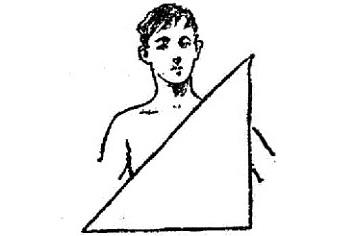 Способы наложения треугольной повязки