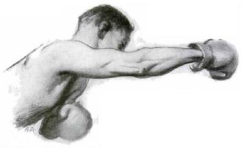 Удар боксёра