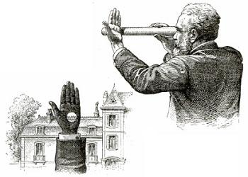 Взгляд сквозь руку — Иллюзия и проверка зрения