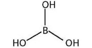 Борная кислота в растворе и порошке