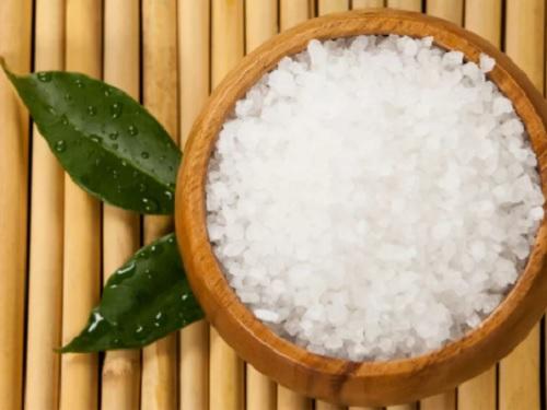 Как действует морская соль?