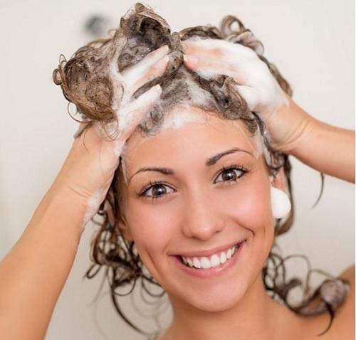 Как мыть голову мылом