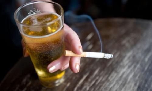 Курение, алкоголь и псориаз